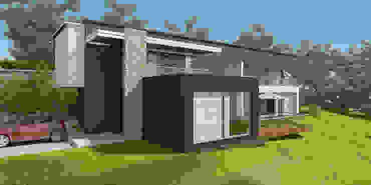 Casa ED Casas modernas de John Robles Arquitectos Moderno