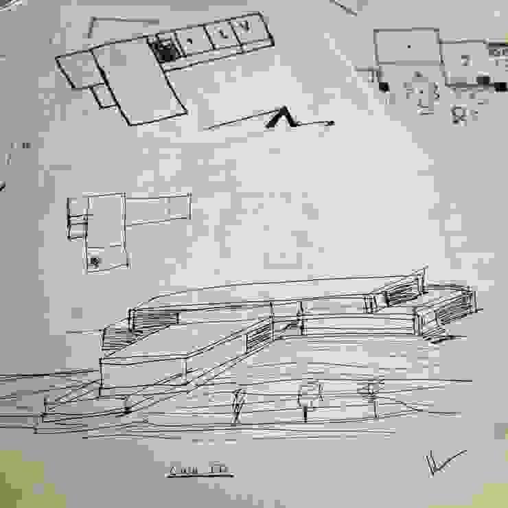 Casa ED de John Robles Arquitectos Moderno
