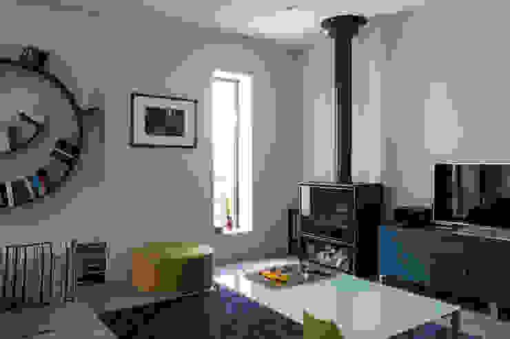 Maison à Limoges 2016 Salon moderne par Jean-Paul Magy architecte d'intérieur Moderne