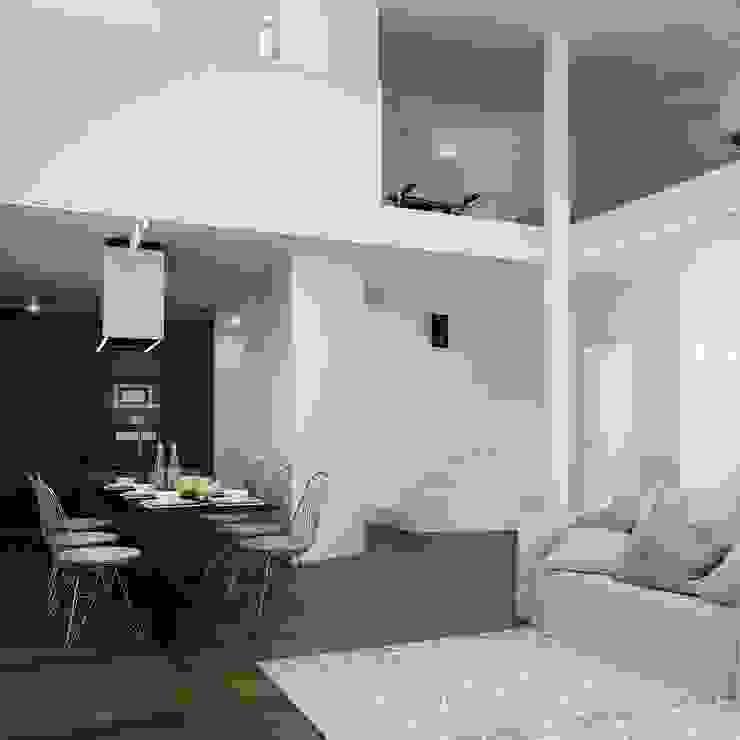 Comedores de estilo minimalista de Dario Cipelletti Architect Minimalista