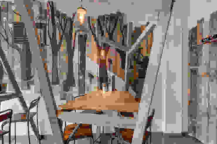 Grizzl store bomen tafel Industriële eetkamers van Studio Made By Industrieel Hout Hout