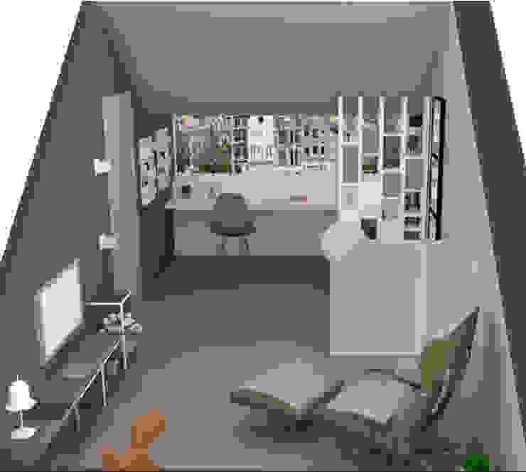 C&L - Scandinavische studeerkamer van MEL design_ Scandinavisch
