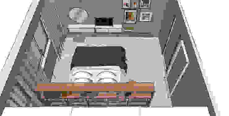 Scandinavian style bedroom by MEL design_ Scandinavian