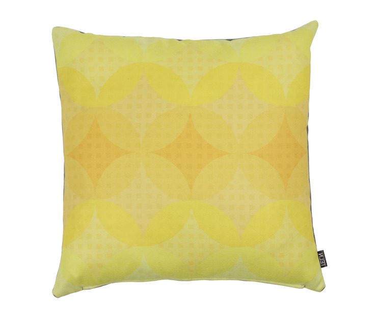 Woonkussen Graphi Circles geel: modern  door NL31 , Modern