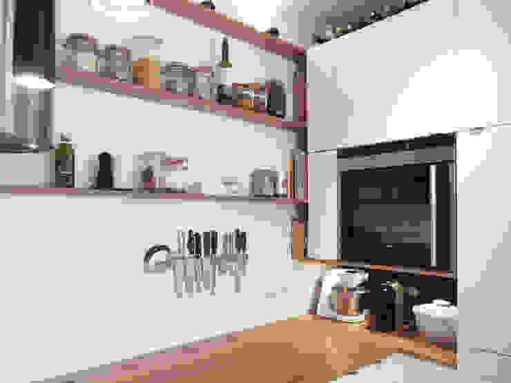 Miniküche Moderne Küchen von studio jan homann Modern Holz Holznachbildung