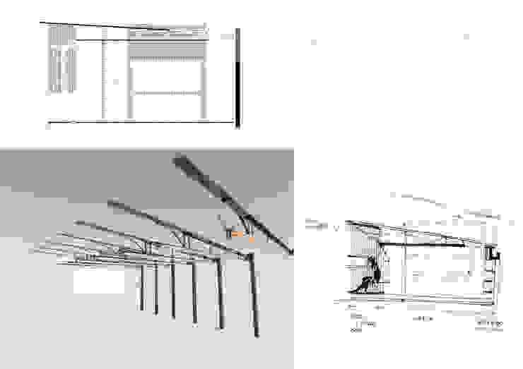 Ruang Makan Gaya Rustic Oleh juan olea arquitecto Rustic