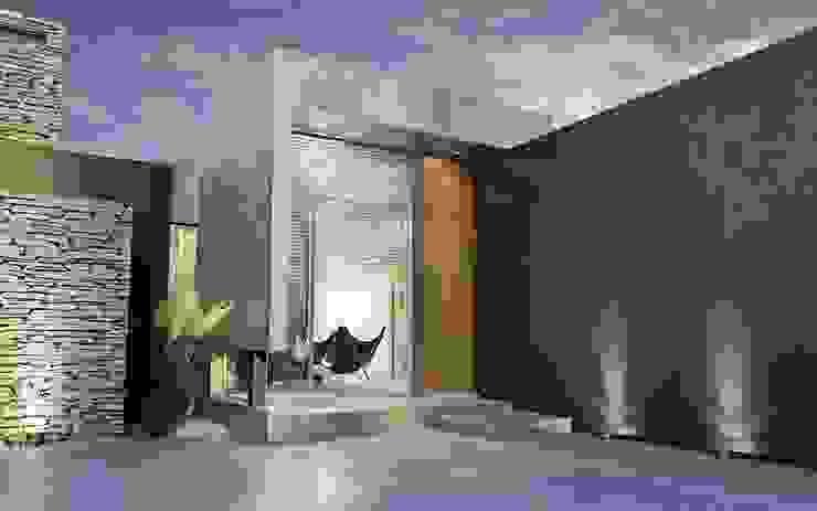 Chazarreta-Tohus-Almendra 現代房屋設計點子、靈感 & 圖片