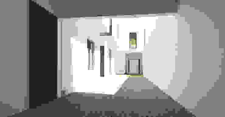 Modern houses by JAPAZ arquitectura arte diseño Modern Bricks