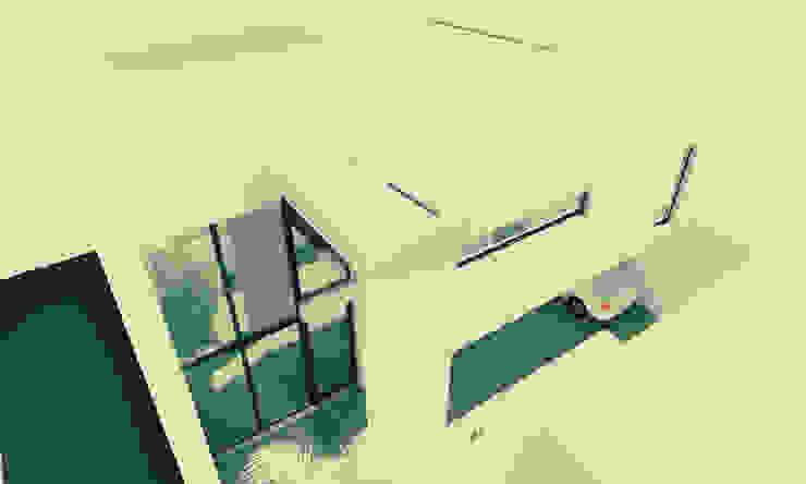 Дома в стиле минимализм от JAPAZ arquitectura arte diseño Минимализм Кирпичи