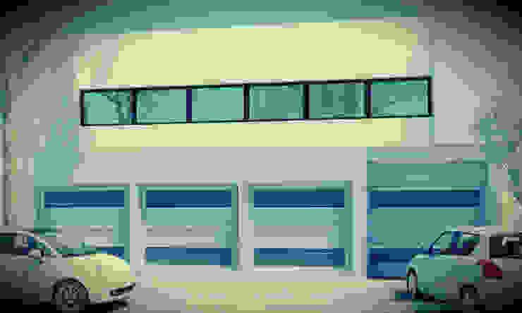 Rumah Modern Oleh JAPAZ arquitectura arte diseño Modern Metal