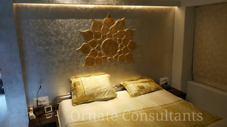Luxurious Residence at Walkeshwar Modern style bedroom by Ornate Projects Modern