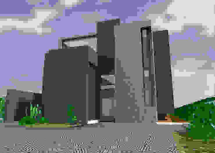 Casa Casas minimalistas de JAPAZ arquitectura arte diseño Minimalista Concreto reforzado