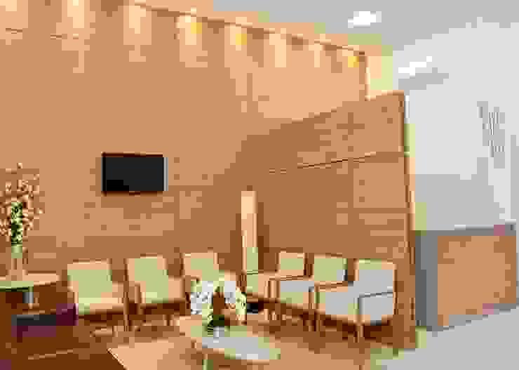 Érica Pandolfo - arquitetura / interiores モダンな医療機関