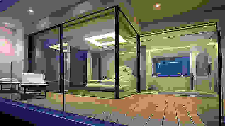 Dormitorios minimalistas de Barra&Barra Srl Minimalista