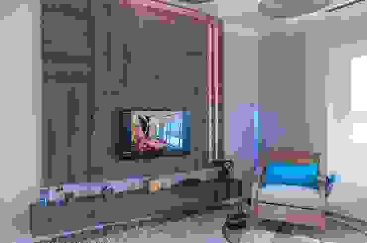 Nuestra Huella Livings modernos: Ideas, imágenes y decoración de Xime Russo Interiores Moderno