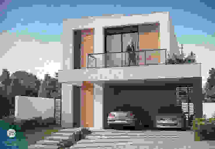 Дома в стиле минимализм от studio vtx Минимализм