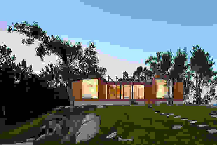 Дома в стиле модерн от Jular Madeiras Модерн Дерево Эффект древесины