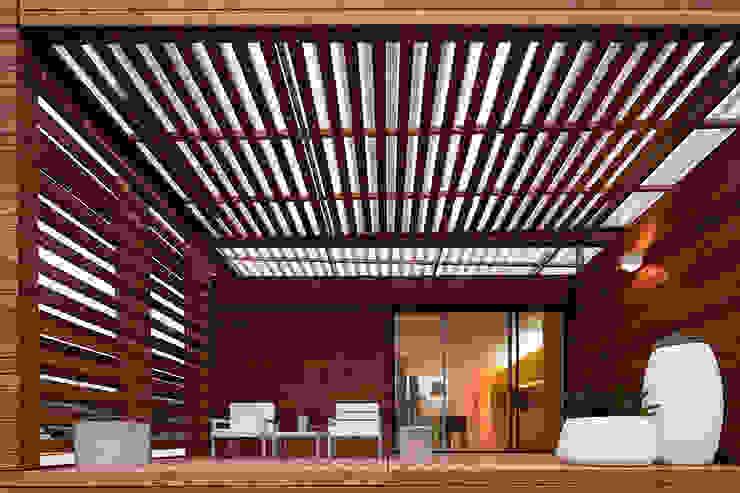 Modern terrace by Jular Madeiras Modern Wood Wood effect