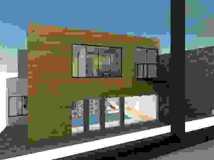 Zona fitness y estudio Casas modernas de Ingenieros y Arquitectos Continentes Moderno