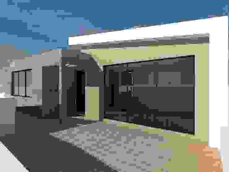 Ampliación Casa Habitación (Terraza) Balcones y terrazas modernos de Ingenieros y Arquitectos Continentes Moderno