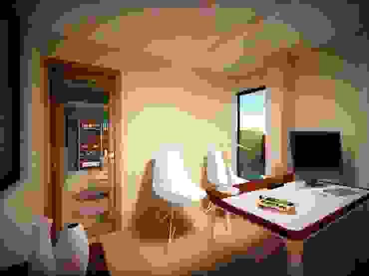 Zona Estudio (privado) Planta alta Estudios y despachos modernos de Ingenieros y Arquitectos Continentes Moderno