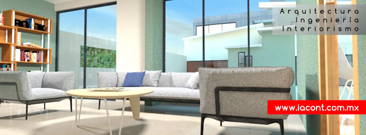 Lounge Estudios y despachos modernos de Ingenieros y Arquitectos Continentes Moderno