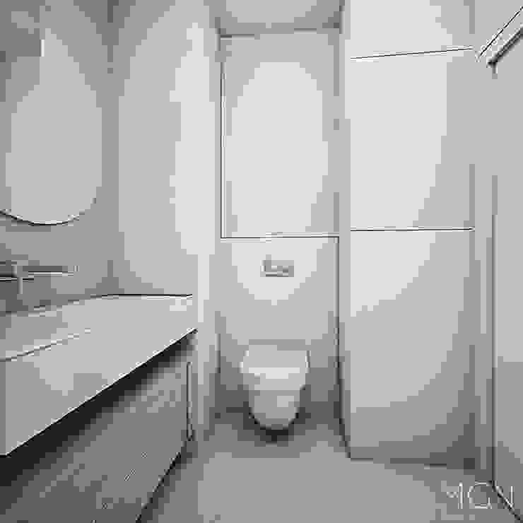 MGN Pracownia Architektoniczna Scandinavian style bathroom