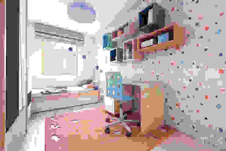 MGN Pracownia Architektoniczna Stanza dei bambini moderna