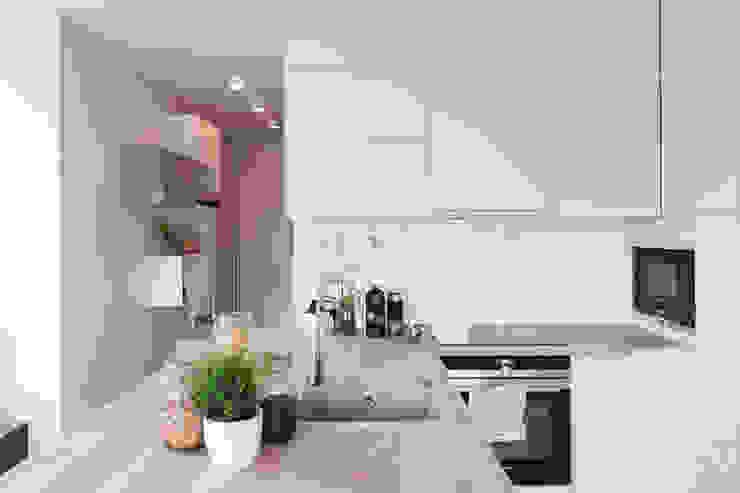 Cocinas de estilo  por MGN Pracownia Architektoniczna, Moderno