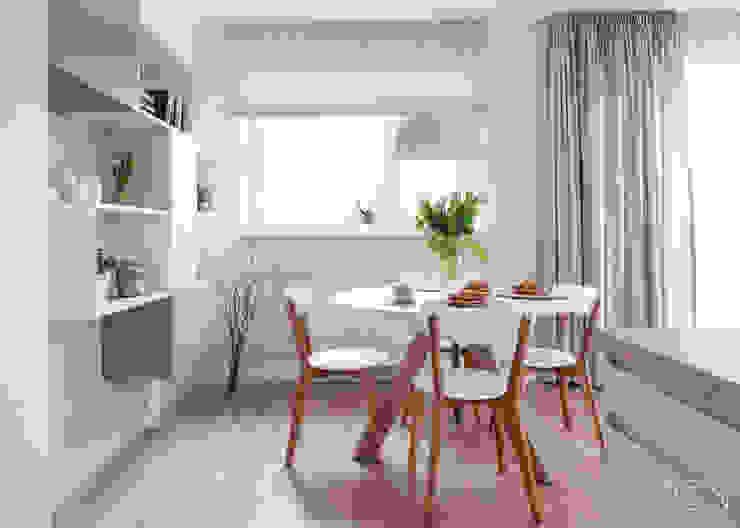 Scandinavian style dining room by MGN Pracownia Architektoniczna Scandinavian