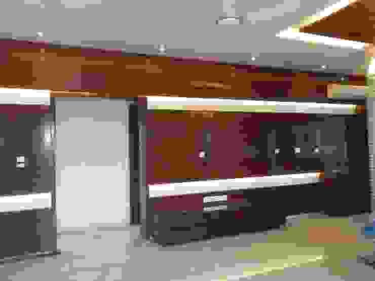 Mr. Jain House homify Modern living room