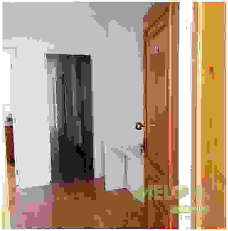 Remodelação de Apartamento Corredores, halls e escadas clássicos por MELOM Momentos Clássico
