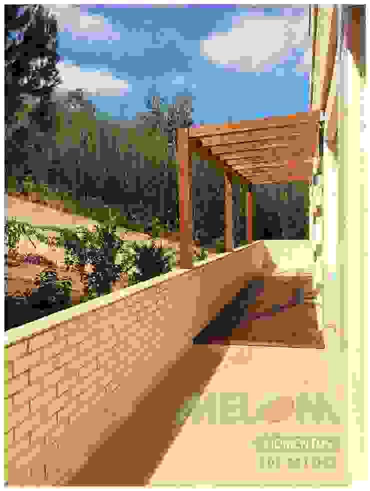 Remodelação de Apartamento Varandas, marquises e terraços clássicas por MELOM Momentos Clássico