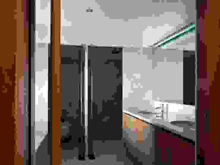 Bathroom Casas de banho minimalistas por Arquitectura Sensivel Minimalista Mármore