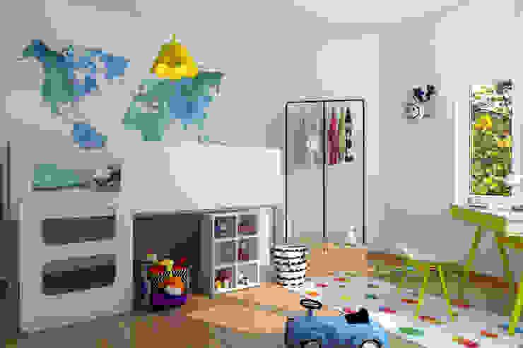 Chambre enfant 6 ans Chambre d'enfant moderne par homify Moderne