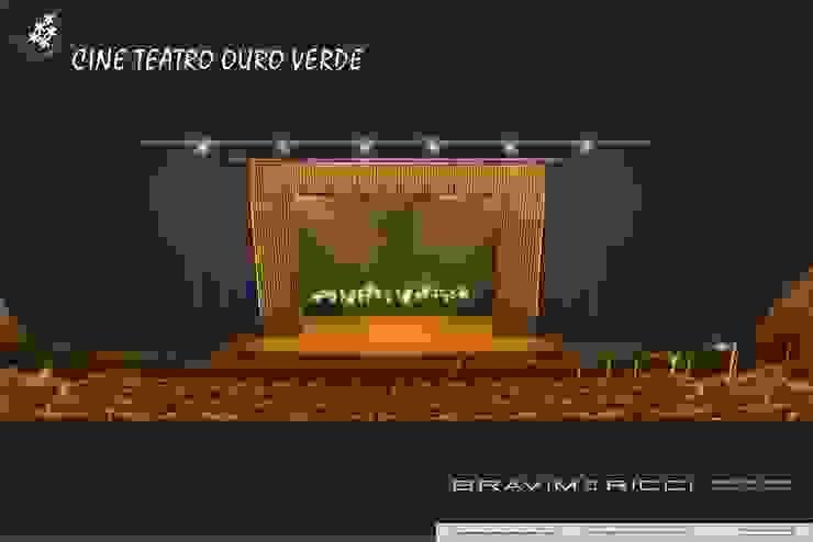 BRAVIM ◘ RICCI ARQUITETURA Salones de eventos de estilo moderno