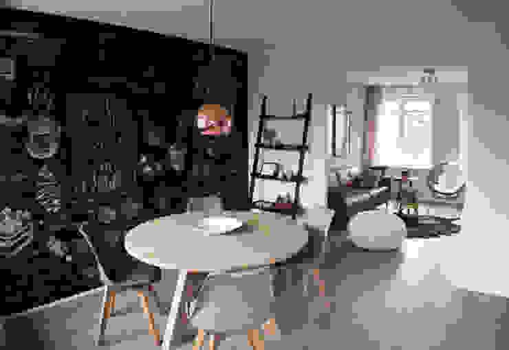 Appartement Amsterdam Industriële eetkamers van By Lenny Industrieel