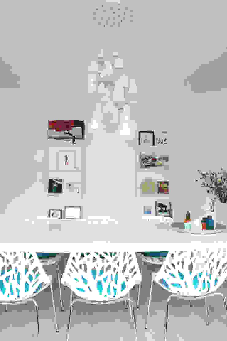 Appartement Amsterdam Moderne eetkamers van By Lenny Modern