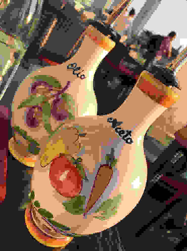 CEAR Ceramiche Azzaro & Romano Srl CocinaVasos, cubiertos y vajilla Cerámico Multicolor