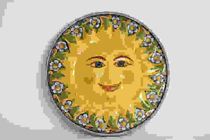 Sole murale CEAR Ceramiche Azzaro & Romano Srl ArteAltri oggetti d'arte Ceramica Variopinto
