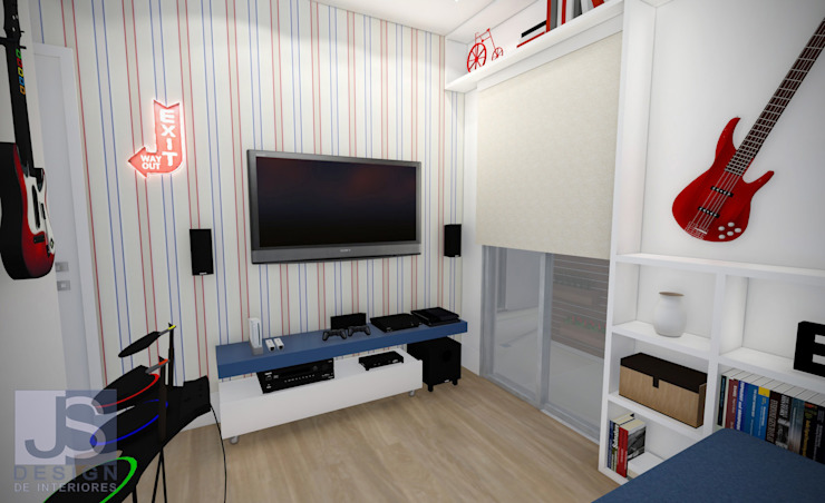 Modern style bedroom by JS Interiores Modern