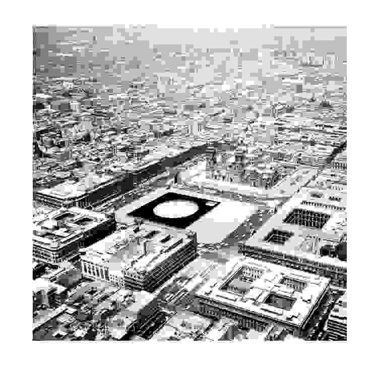 Vista áerea del proyecto de Dellekamp Arquitectos