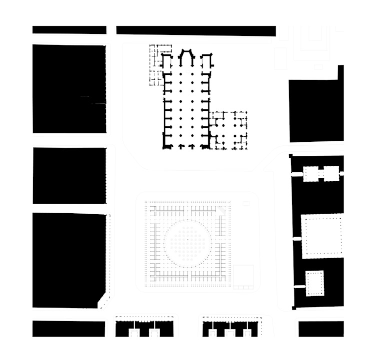 Planta genral de Dellekamp Arquitectos