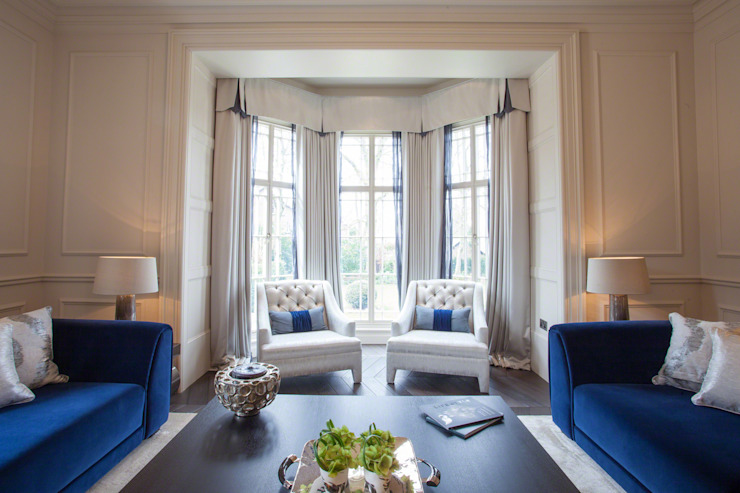 Restored Georgian splendour with modern indulgences من Design by UBER كلاسيكي