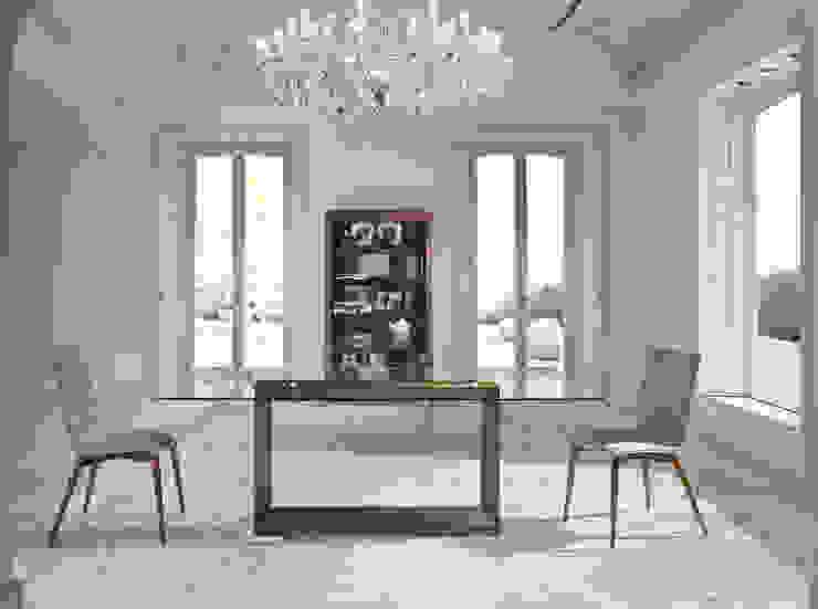 Mesas com tempo de vidro Tables with glass top www.intense-mobiliario.com PRISM http://intense-mobiliario.com/pt/mesas-vidro-fibra/8852-mesa-prism.html por Intense mobiliário e interiores; Moderno