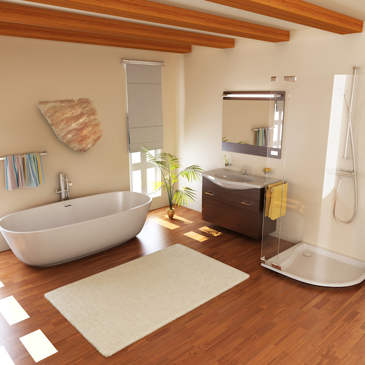Bathroom by ALI-CURA, Modern