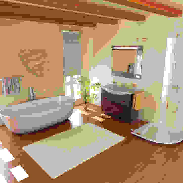 Baños de estilo moderno de ALI-CURA Moderno