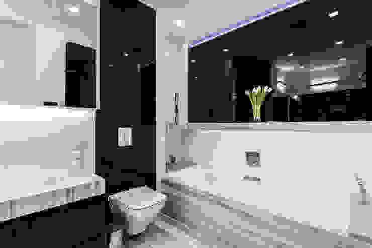 Ванные комнаты в . Автор – Michał Młynarczyk Fotograf Wnętrz, Модерн