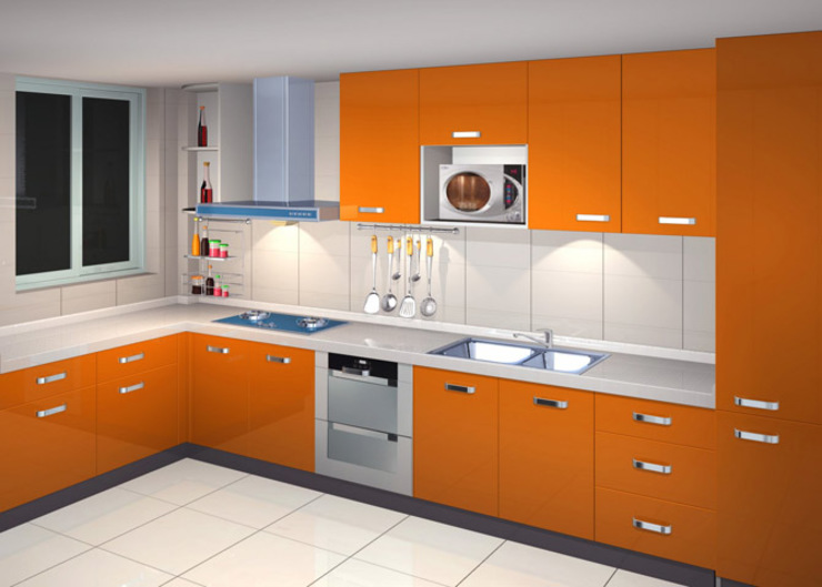 Dream Modular Kitchens: modern  by NBA CORPORATION,Modern