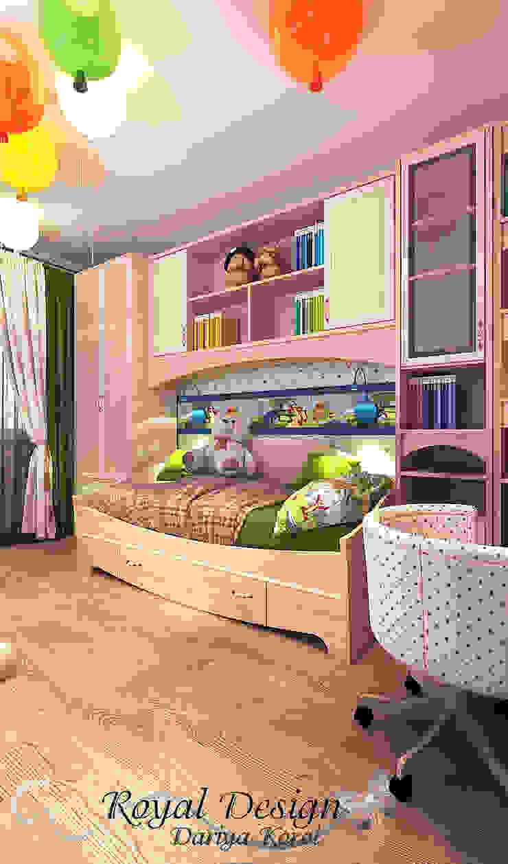 Children's room in the panel house apartment Детская комнатa в классическом стиле от Your royal design Классический